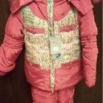 Новый зимний детский костюм