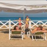 Пляжный зонт диаметром 4 метра
