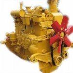 Двигатель Д-160/Д-180 на трактор (бульдозер) ЧТЗ Уралтрак Т-130, Т-170, Б-10.