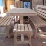 Мебель из липы для бани и сауны