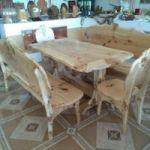 Комплект мебели из горного тополя