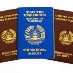 Нотариальный перевод документов с таджикского языка
