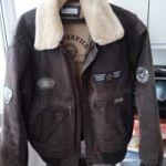 """Куртка """"Куртка """"Pilot"""" из натуральной кожи"""