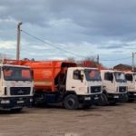 Вывоз строительного мусора в Краснодаре бункерами-лодочками 8м3