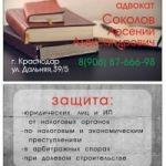 адвокат по налоговым и экономическим спорам