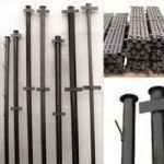 Прочные металлические столбы