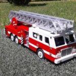 Сувенир Пожарная машина Quint
