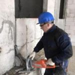 Алмазная Резка бетон кирпича блоков