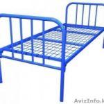 Кровати металлические со сварной сеткой