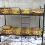 Качественные металлические кровати в хостелы