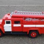 Сувенир/модель пожарная автоцистерна ац-40(130)63А
