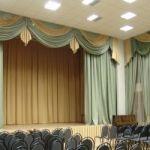 Шторы для актового  или  музыкального  зала  в детсадах.