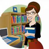 Помощник библиотекаря в отдел спец литературы