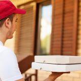 Курьер на доставку пиццы, утро/день. Центр