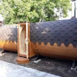 Баня-бочка 5,7 метра
