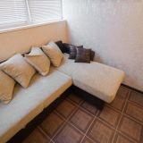 Квартира уютная!Ремонт в теплых светлых тонах. Мебель современная, в хорошем сос