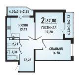 Продаю 2 к.кв. ККБ город Краснодар