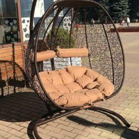 Подвесное кресло двухместное