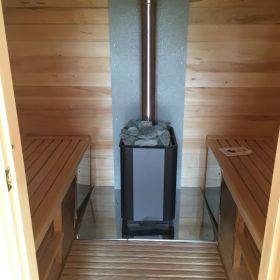 Баня-бочка 4-х метровая