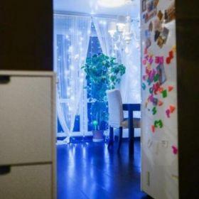 Отличная квартира-студия с качественным ремонтом, застекленным и утепленным балконом.
